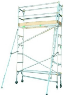 Light Duty Mobile Tower with Outrigger
